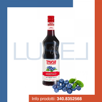 GR 1300 Sciroppo al mirtillo Toschi blueberry syrup per granite e cocktail in bottiglia