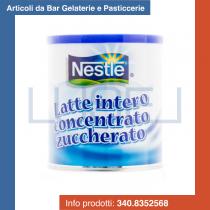 KG 1 Latte Nestle' intero concentrato condensato zuccherato