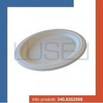 PZ 100 Vassoio ovale medio bio ecologico in polpa di cellulosa biodegradabile