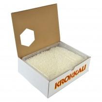 gr 1400 granella di meringa in vaschetta ideale per lavorazioni di gelateria e pasticceria, per decorare dolci, torte
