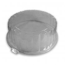 PZ 15 Piatto piano da cm 22 + coperchio trasparente (alto cm 8)
