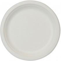 PZ 100 Piatto bio ecologico per pizza da cm 33 in polpa di cellulosa biodegradabile