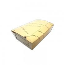 PZ 60 Porta alimenti medio 18 x cm 12 alto cm 5  in carta alimentare per asporto color crema