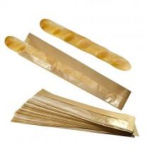 pz 50 busta in carta porta baguette, pane, filone di pane e tranci di pizza altezza 62 cm