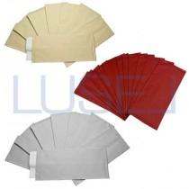 PZ 125 Busta portaposate cm 10 x 25 + tovagliolo 40 x 40 busta sacchetto colorato