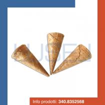 PZ 882 Cialde arrotolate per gelati a forma di punta di cono per coppe gelato e dolci