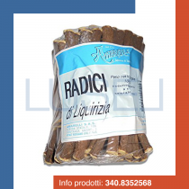 Gr 1000 radice di liquirizia amarelli in bastoncini liquorice roots sticks