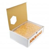 gr 800 riso intero caramellato ideale per decorazioni di dolci, realizzazione di dessert, torte, monoporzioni e pasticcini