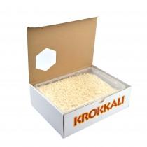 gr 500 riso intero naturale ideale per decorazioni di dolci, realizzazione dibasi per torte, monoporzioni, pasticcini e biscotti