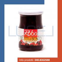 GR 580 Frutti di bosco allo sciroppo in vaso di vetro