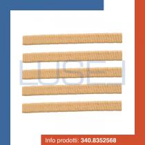 PZ 250 Cialde lunghe per gelato rettangolare schiacciata croccante