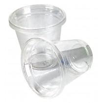 PZ 100 Bicchiere in pla bio da 3 cc alla tacca mini shottino per amari e liquori monouso da 30 ml