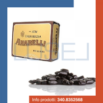 KG 1 Liquirizia pura Amarelli Spezzatina (pezzi da circa mm 5) da radici selezionate