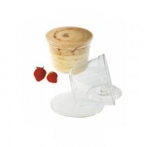 PZ 20 Spumone monoporzione da cc 350 + coperchio per dolci e dessert