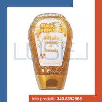 GR 350 Miele di acacia  nettare 100 % italiano dolcificante in bottiglietta di plastica squeezer