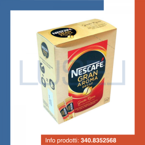 PZ 120 Nescafè Gran Aroma decaffeinato, caffè istantaneo solubile