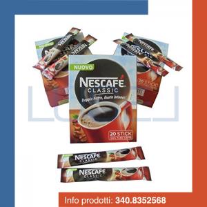 PZ 120 Caffe' nescafe' classic solubile in bustina monoporzione